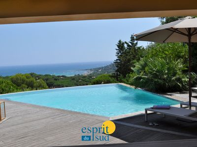 Photo for Luxury villa with sea view and up to 11 people in Sainte - Maxime