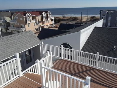 Photo for 4 BR Beach Block Townhome with Roof Deck and Ocean Views