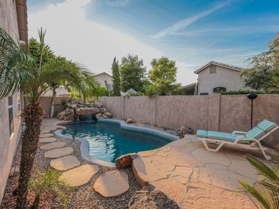 Photo for Upgraded Old Town Scottsdale Home w/ Heated Pool, Waterfalls, & Pool Table !!!