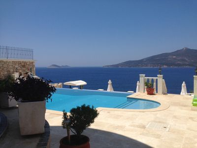 Photo for Stunning Luxury 4 Bedroomed Villa with amazing views over the harbour