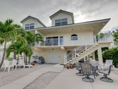 Photo for Breezy waterfront home w/shared pool, 35-ft dock, access to Cabana Club!