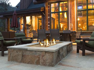 Photo for Painted Rock Lodge:  Unique Lodge-Style Home On The Truckee River