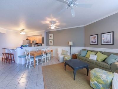 Photo for Spacious Balcony Overlooks Pool | 2-Bedroom with Bunks!