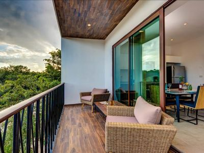 Photo for Tulum Beautiful Condo with Rooftop