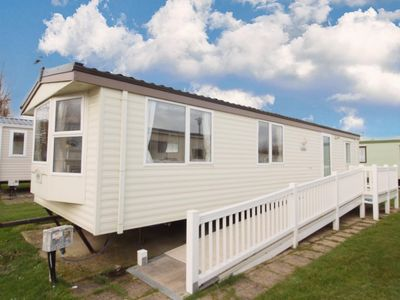 Photo for Fully wheelchair accessible caravan for hire in Norfolk near the beach -50020L