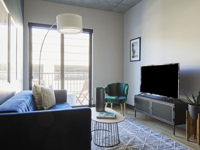 Photo for Sonder | Mill Ave | Charming 1BR + Balcony