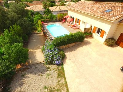 Photo for NEW VILLA WITH SWIMMING POOL 2KM FROM ST FLORENT
