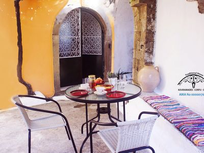 Photo for Traditional house at Kouramades, Corfu