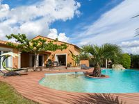 The villa was well equipped  The surrounding was very peaceful and there was sho ...