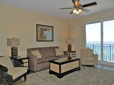 Photo for Incredible Beach Views ~ Gulf Front Condo ~ Pool, Hot Tub, Fitness & More!