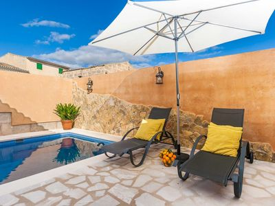 Photo for Can de Maria - Village house for 2 people with private pool and patio