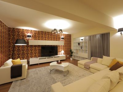 Photo for Penthouse Orhideea - 258m² - Panoramic View - terrace 80m²- SPA included
