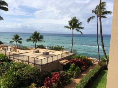 Photo for #305 Amazing Ocean Views & Whale Watching On The Lanai