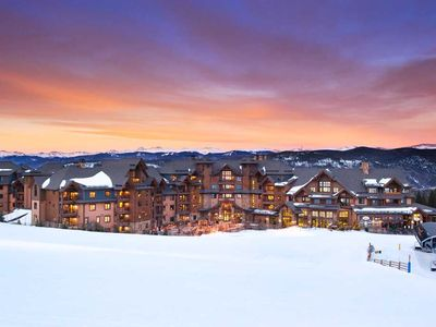 Photo for Breckenridge, CO 3 Bedroom Ski-In/Ski-Out Condo on Peak 7
