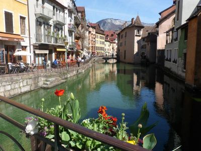 Photo for Apartment with garage in the heart of Annecy