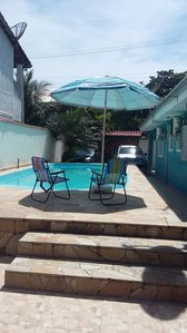 Photo for House on the beach with pool