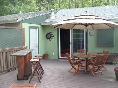 Photo for Russian River Oasis Privacy in the Redwoods with Decks and Relaxation