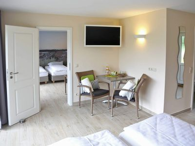 Photo for FZ 9-11 / 2-room-rooms without kitchen (48m², 4 pers.) - bed + bike   B & B   Bike Pension Ostseeland Rerik