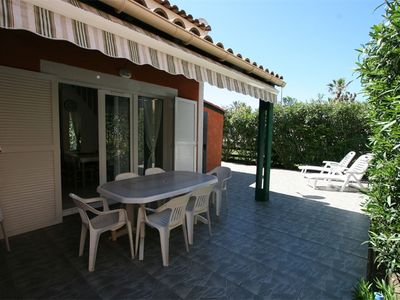 Photo for In residence with swimming pool, pavilion sleeps 7 with large terrace