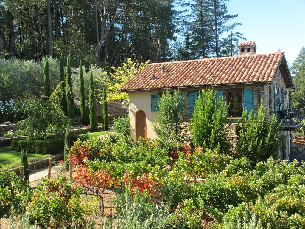 Spectacular Napa Valley Views From A Mounta Vrbo