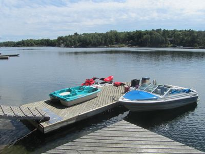 Photo for Private Island Cottage Situated In The 30,000 Islands Near Killbear Park