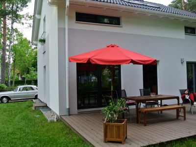 Photo for Modern holiday home in the Berlin countryside 100 m to Wandlitz and Liepnitzsee