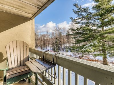 Photo for Resort condo at the base of the slopes w/ shared pools & hot tub!