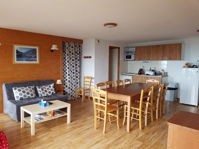 Photo for Chamrousse - at the foot of the slopes - 3 Rooms - 10 Persons - South facing balcony