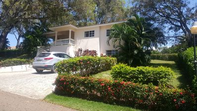 Photo for 4BD guest-friendly villa with private pool, high-speed internet, near everything