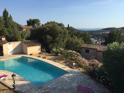 Photo for Agay - Saint Raphaël, villa with sea view and private pool