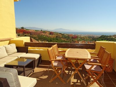 Photo for Luxurious apartment super equipped - Beautiful sea view - 5 swimming pools - Brand new!