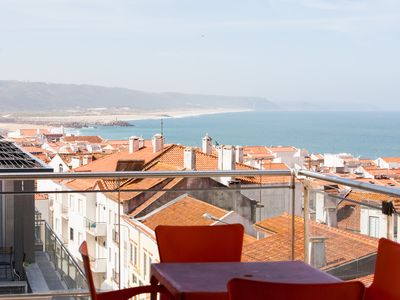 Photo for 471750 - 3 bedroom apartment - Swimming pool and amazing views of the coastline - Sleeps 6 - Nazare
