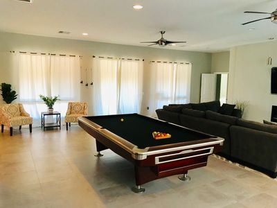 Photo for New home 3 master suites w/ private baths - sleeps 12, 3 miles from the Strip