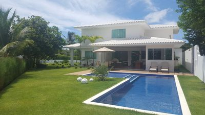 Photo for Beach house in Guarajuba, fully furnished, Luxury condominium and 24h security