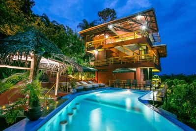 Villa Grande:  Plenty of space inside and out!