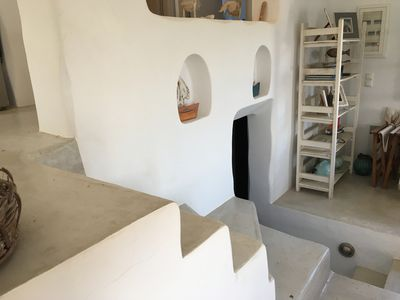 Photo for Cycladic Beach House at Loutra, Kithnos