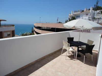 Photo for Bedroom apartment 100 meters from the beach, air conditioning