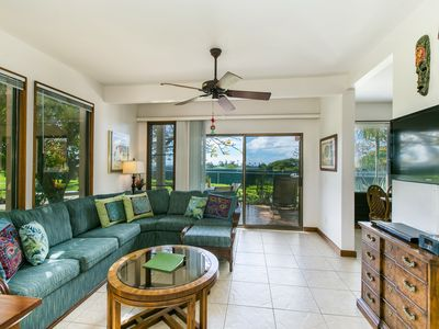 Photo for KAHALA 214, Very Short Walk to Awesome Beaches, Grd Floor, on Greenbelt, 2 Pools