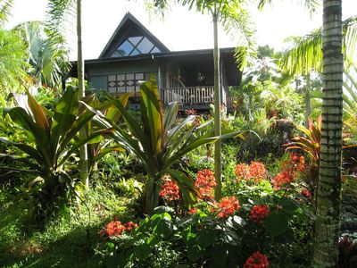 Photo for A Bali Paradise Home Nestled in a Private Garden in a Remote Area of Hawaii