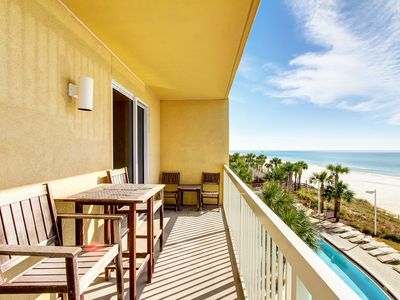 Photo for Beautiful Gulf-Front Unit With Beach-Front Master! Pool & Hot Tub!