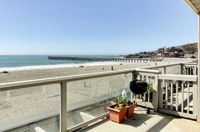 Soak up the California sunshine from this oceanfront vacation rental condo!