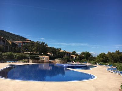 Photo for Apartment in Les Issambres with breathtaking sea and golf views of St Tropez