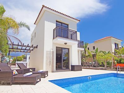 Photo for Aricia Villa - Outstanding Villa with Private Pool in a Premium and Quiet Location, 300 metres from Scout's Beach!  - Free WiFi