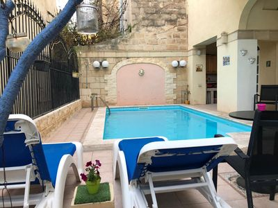 Photo for Villa with pool in the heart of Sliema