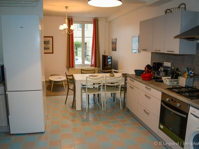 Photo for In the heart of Cabourg in a quiet street, Villa fully equipped for 10 people