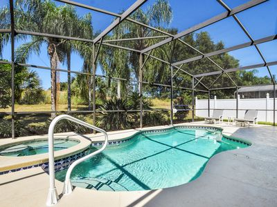 Photo for Pool Home with Spa, Closest to Disney, Open Plan, Grill, Fully Equipped