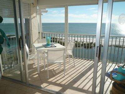 Photo for Sun Caper 702, 2 Bedroom ,Paradise End Unit Gulf Front, Fort Myers Beach