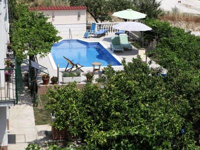 Photo for One bedroom Apartment, sleeps 4 in Trogir with Air Con and WiFi