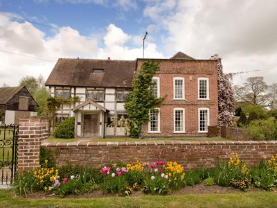 Photo for Grade II listed 17th Century Manor House in Herefordshire village
