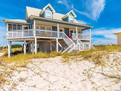 "Photo for ""SEASIDE"" Gulf Front Home with the best views on the beach **NO DAMAGE DEPOSIT**"